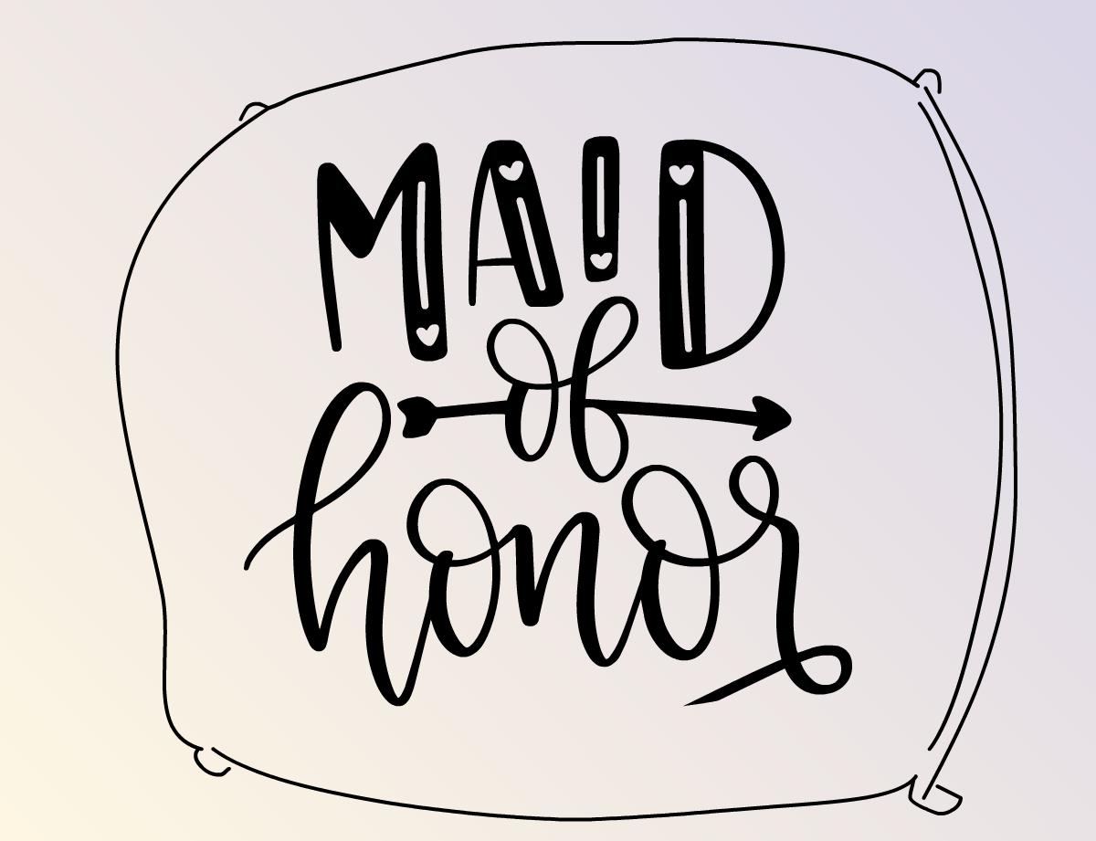 Illustration Maid of Honor